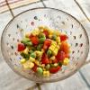 とうもろこしと枝豆のチョップドサラダ