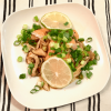 アンチエイジングにおすすめの「鮭ときのこの漬けサラダ」