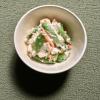 シミ予防におすすめ「春野菜の豆腐クリームサラダ」